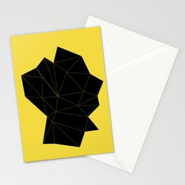 Human Head Stationery Cards