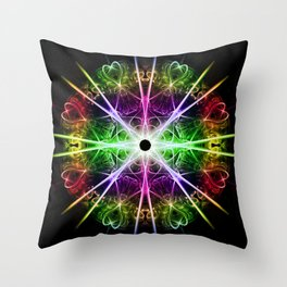 Love in the stars Throw Pillow