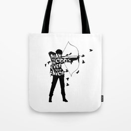 the Girl on Fire Tote Bag
