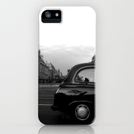 LONDON  BLACK CAB iPhone Case