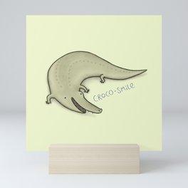 Croco-Smile Mini Art Print