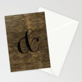 Didot Ampersand Stationery Cards