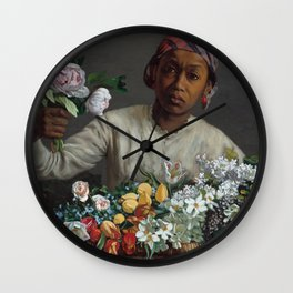 Fine Art,Wall Art,Masterpiece,on,HOME DECOR,iPhone cases,iPhone sleeves Wall Clock