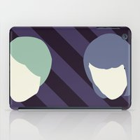 tegan and sara iPad Cases featuring Tegan and Sarah by Drix Design
