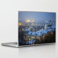prague Laptop & iPad Skins featuring Prague 2 by Veronika