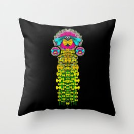 Love me give me a home indoors popart Throw Pillow