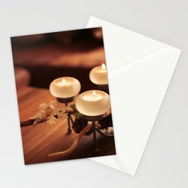 Advent Candles Stationery Cards