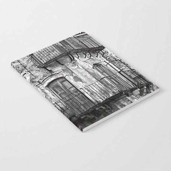 SICILIAN MEDIEVAL FACADE Notebook