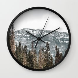 Sawtooth Canopy Wall Clock