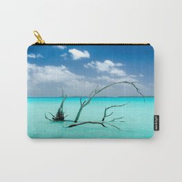 Driftwood in Lagoon Carry-All Pouch