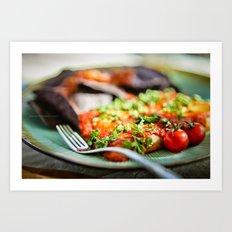 Enchiladas Art Print