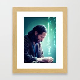 I will search for you Framed Art Print