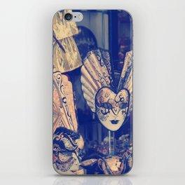venetian mask iPhone Skin