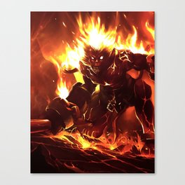 Wukong of LOL Canvas Print