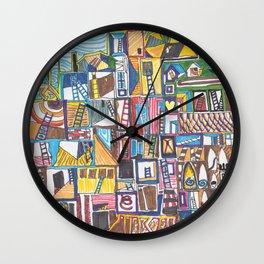 Chapman's House of Dreams 1 Wall Clock