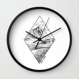 Scottish Mountains Wall Clock