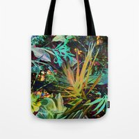 jungle Tote Bags featuring jungle by clemm