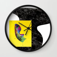 my laundry is getting wet in the rain (again) Wall Clock
