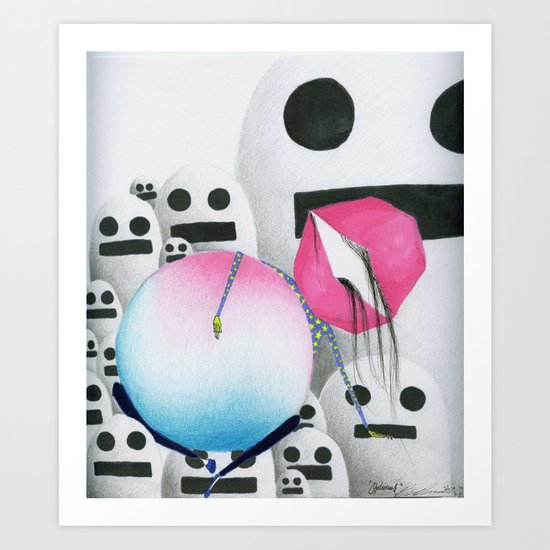 Optimus. Art Print