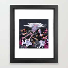 Deep Deep Down - New World Framed Art Print