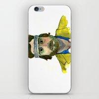 tenenbaum iPhone & iPod Skins featuring Richie Tenenbaum by Tessa Heck