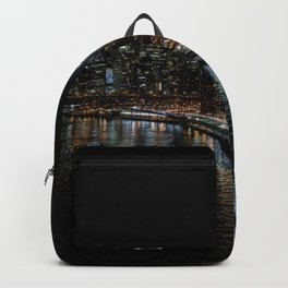 Manhattan Skyline East Backpack