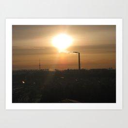From my window(2) Art Print