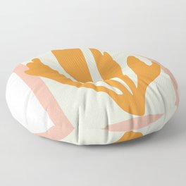 Henri matisse the cut outs contemporary, modern minimal art Floor Pillow