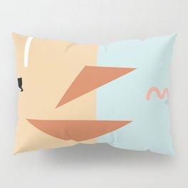 Croissant sandwich Pillow Sham