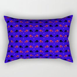 Cute Devil Pattern Rectangular Pillow