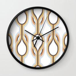 Retro-Delight - Double Drops - Frost Wall Clock