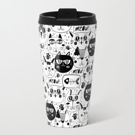 Cats Everywhere Travel Mug