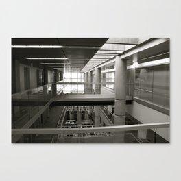 Library No. 4 Canvas Print