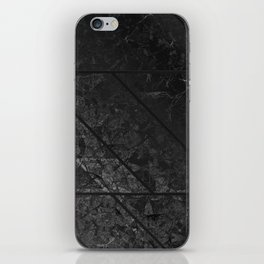 Black Marble Texture G310 iPhone Skin