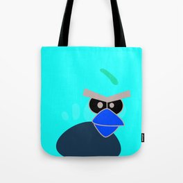 Angry Birds Breaking Glass Tote Bag