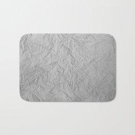 Scribbled Paper Bath Mat