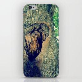 treehole iPhone Skin