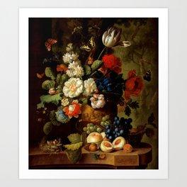 """Jan van Os """"Flowers"""" Art Print"""
