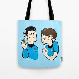 Spock You Tote Bag