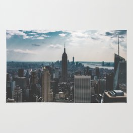 NEW YORK - CITY MANHATTAN - EMPIRE STATE BUILDING - PHOTOGRAPHY Rug