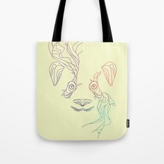 Earth Spirit Panda Tote Bag