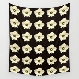 Sepia flower -bloom,blossom,petal,floral,leaves,flor,garden,nature,plant. Wall Tapestry