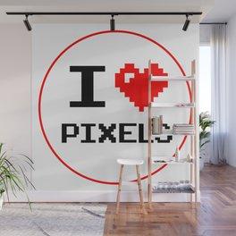 I Love Pixels, Pixel Heart Wall Mural