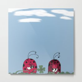 A Clover For My Lover Metal Print