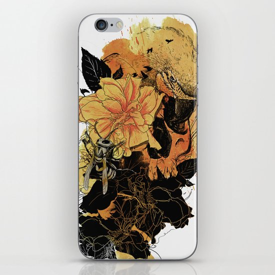 Pollination Fire iPhone & iPod Skin
