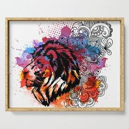 Lion Spirit Serving Tray
