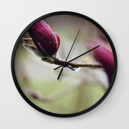 Rain Wall Clock
