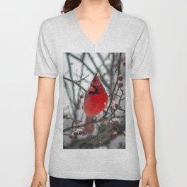 Cardinal Art Unisex V-Neck