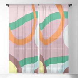 ART19-4 Sheer Curtain