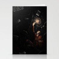 lynch Stationery Cards featuring Ronan Lynch by Katy-L-Wood